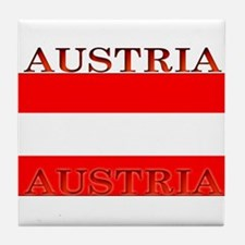 Austria.jpg Tile Coaster
