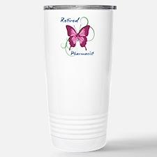 Retired Pharmacist (But Stainless Steel Travel Mug