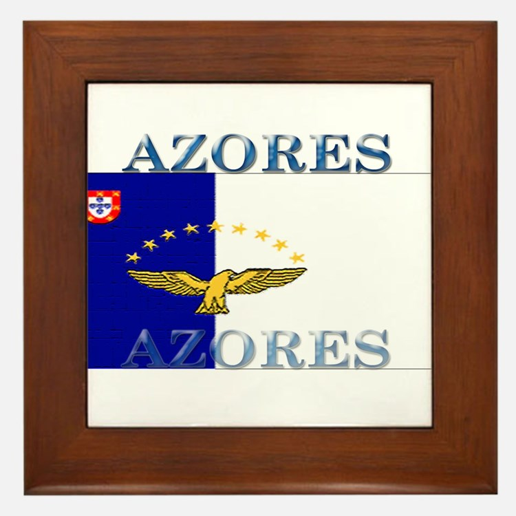 Azores.jpg Framed Tile