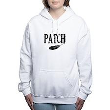 Cute Crescendo Women's Hooded Sweatshirt