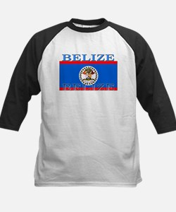 Belize.png Kids Baseball Jersey