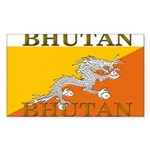 Bhutan.jpg Sticker (Rectangle 10 pk)