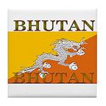 Bhutan.jpg Tile Coaster