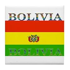 Bolivia.jpg Tile Coaster