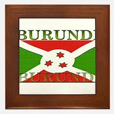Burundi.jpg Framed Tile