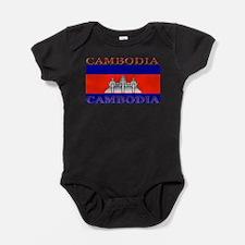Cambodia.jpg Baby Bodysuit