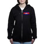 Cambodiablank.jpg Women's Zip Hoodie