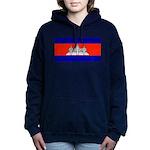 Cambodiablank.jpg Women's Hooded Sweatshirt