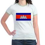 Cambodiablank.jpg Jr. Ringer T-Shirt