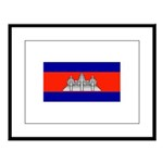 Cambodiablank.jpg Large Framed Print