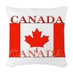 Canada.jpg Woven Throw Pillow