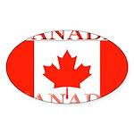 Canada.jpg Sticker (Oval 10 pk)