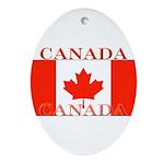 Canada.jpg Ornament (Oval)