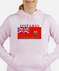 Ontario.jpg Women's Hooded Sweatshirt