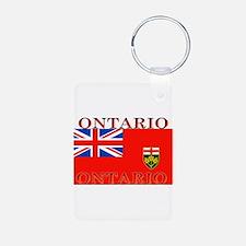 Ontario.jpg Aluminum Photo Keychain