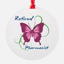 Retired Pharmacist (Butterfly) Ornament