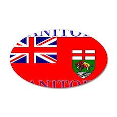 Manitoba.jpg 35x21 Oval Wall Decal
