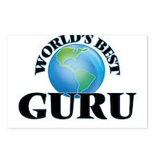 World's Best Guru Postcards (Package of 8)