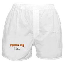 Trust Banker Boxer Shorts