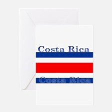 CostaRicablack.png Greeting Card