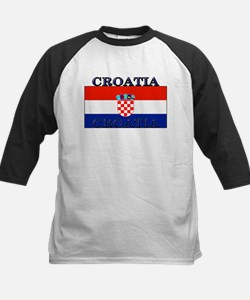 Croatiablack.png Kids Baseball Jersey