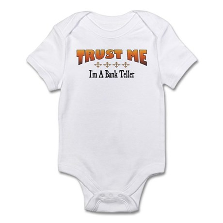 Trust Bank Teller Infant Bodysuit