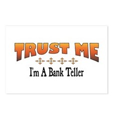 Trust Bank Teller Postcards (Package of 8)