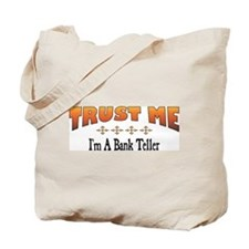 Trust Bank Teller Tote Bag