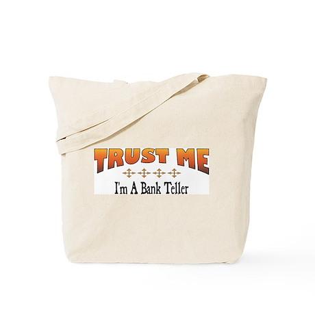 Trust Bank Teller Tote Bag