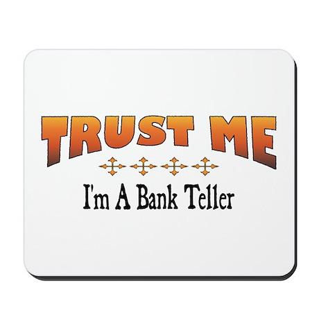 Trust Bank Teller Mousepad
