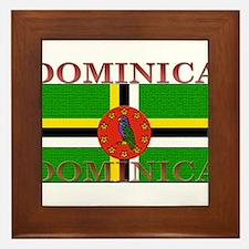 Dominica.jpg Framed Tile