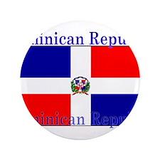 "DominicanRepublic.jpg 3.5"" Button (100 pack)"