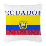 Ecuador.jpg Woven Throw Pillow
