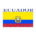 Ecuador.jpg 35x21 Wall Decal