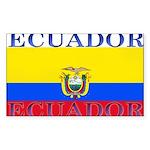 Ecuador.jpg Sticker (Rectangle 10 pk)
