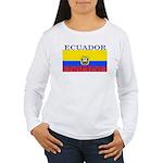 Ecuador.jpg Women's Long Sleeve T-Shirt