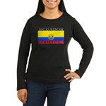 Ecuador.jpg Women's Long Sleeve Dark T-Shirt