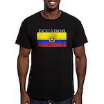 Ecuador.jpg Men's Fitted T-Shirt (dark)