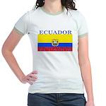Ecuador.jpg Jr. Ringer T-Shirt