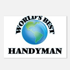 World's Best Handyman Postcards (Package of 8)