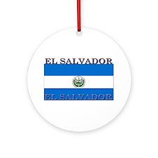 ElSalvador.jpg Ornament (Round)