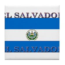 ElSalvador.jpg Tile Coaster