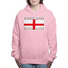 England.jpg Women's Hooded Sweatshirt