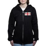 Englandblank.jpg Women's Zip Hoodie