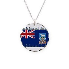 FalklandIsles.jpg Necklace Circle Charm