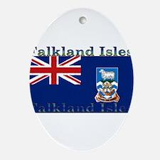 FalklandIsles.jpg Ornament (Oval)