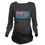 Fijiblank.png Long Sleeve Maternity T-Shirt