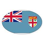 Fijiblank.png Sticker (Oval 10 pk)