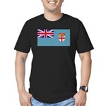 Fijiblank.png Men's Fitted T-Shirt (dark)