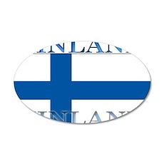 Finland.jpg 35x21 Oval Wall Decal